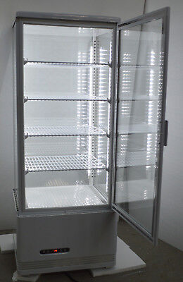 Refrigerated Display Cabinet - SS Commercial Refrigerated Bakery Showcase Cake Display Cabinet 110V Pie Display