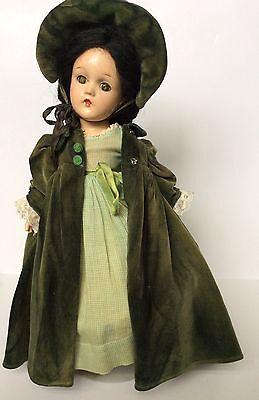 "Vintage Madame Alexander ""Scarlett Ohara"" Doll 1940's"