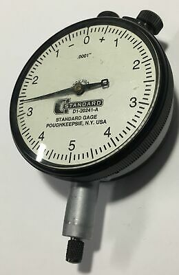 Brown Sharpe Standard Gage D1-20241-a Dial Indicator 0-.025 Range .0001