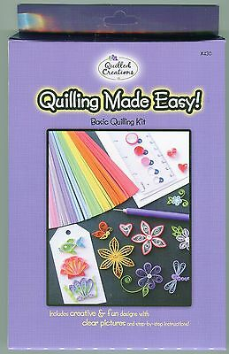 Quilled Creations Quilling Made Easy Basic Quilling Kit -