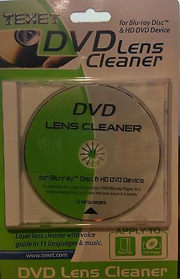 Cd Lens Cleaner (CD / DVD LENS CLEANER, ALSO GAMES CONSOLES, COMPUTERS ,BLUE RAY,HD DVD ETC.)