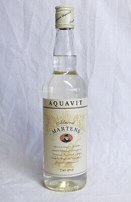 Premium Aquavit ADMIRAL MERTENS 40% vol. - 0,7 Liter - alte Abfüllung