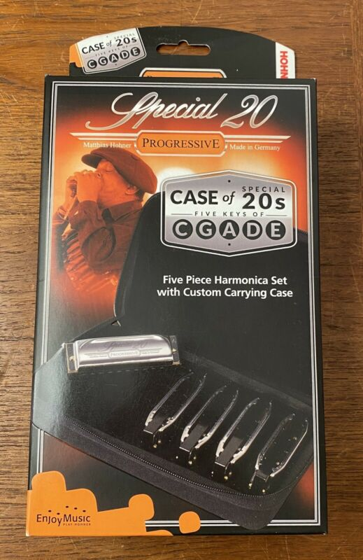 NEW 5 Pack SPECIAL 20 HOHNER HARMONICA KEYS OF  C G A D E