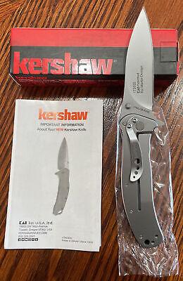 "Kershaw 1730SS Zing EDC SPEEDSAFE Assisted Flipper 3"" Folding Blade Knife"