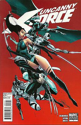 Uncanny X-Force (2010) #1 - J Scott Campbell Variant - Marvel Comics CGC Ready
