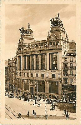 Madrid Spain Banco De Bilbao Postcard