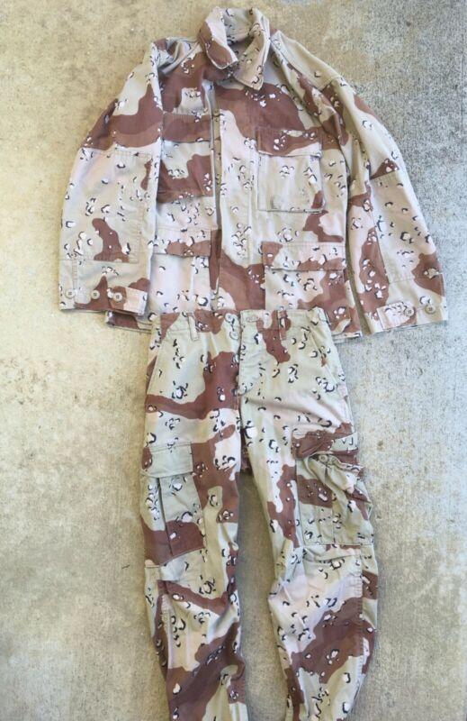 USGI Gulf War 1990-1991 BDU size S; 6 Color Desert Camouflage (Chocolate Chip)