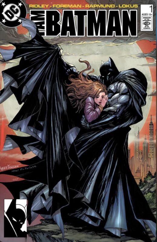 🚨🔥🦇 I AM BATMAN #1 KIRKHAM Trade Dress Variant Batman #423 Homage Ltd 3000