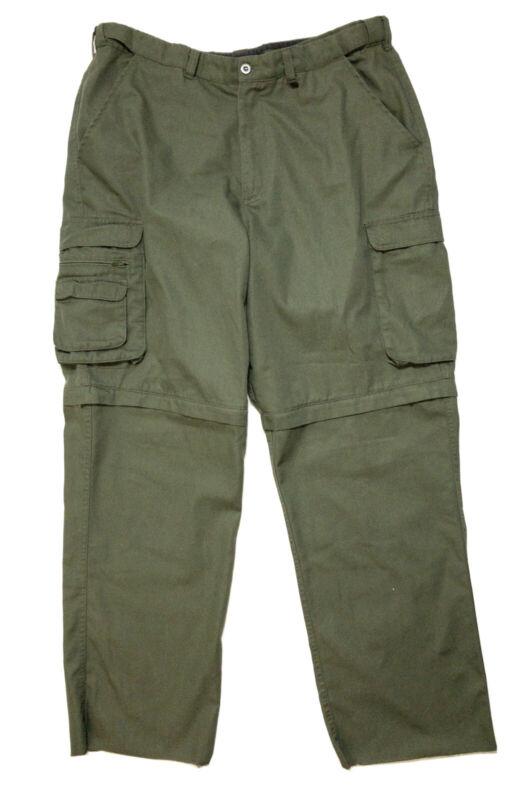 Boy Scouts America BSA Classic Convertible Uniform Pants Mens 38 unfinished hem