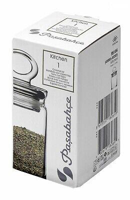 95104 Envase de Cristal con Tapa Cocina 0,24L Pasabahce Bote Condimentos