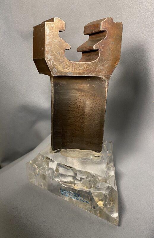 Original/QUEEN ELIZABETH 2 STEAM TURBINE ENGINE/Sculpture by Michael F. Fox/1986
