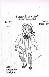 Dolls Brown Suit pattern Free Post Woodgate Bundaberg Surrounds Preview