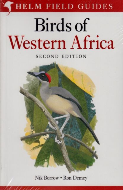 Helm Field Guides Birds of Western Africa by Nik Borrow & Ron Demey (P/B 2014)