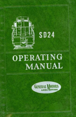RR SD24 Operating Manual