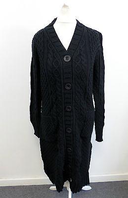 Shukr Amira Long Cardigan - Black - Size: Small - RRP £84.95 - Box63 61 W