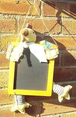Novelty Chicken Memo Blackboard with Chalk on String.
