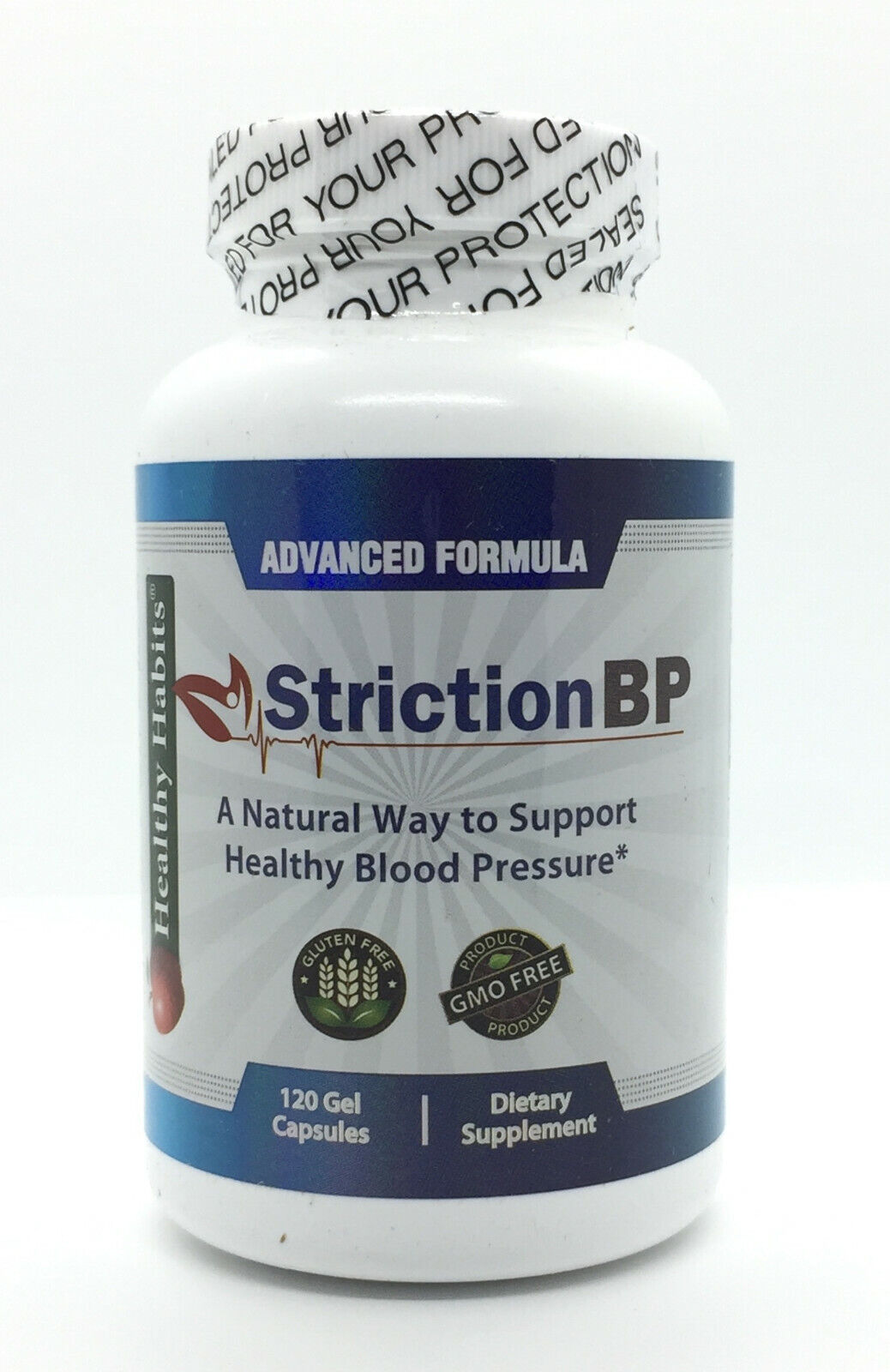 Striction BP Advanced Formula Support Healthy Blood Pressure StrictionBP NEW