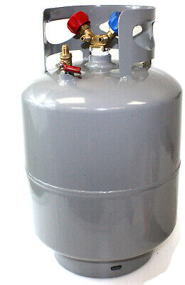 R410a Refrigerant Recovery Reclaim Cylinder Tank - 48lb Pound 400 Psi Y Valve