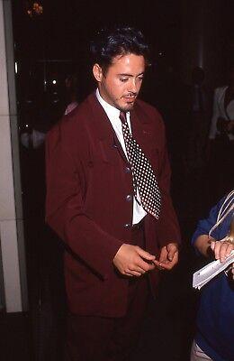 35Mm Color Slide Film Celebrity Photograph Of Robert Downey Jr  628