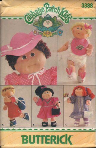 Butterick 3388, Cabbage Patch Kids Cloths