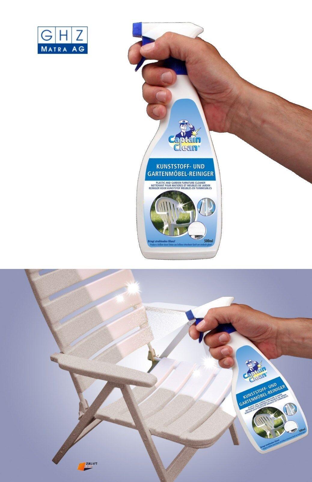 Kunststoff Reiniger 500ml für Gartenmöbel,Fensterrahmen,Jalousien gut für Weiss