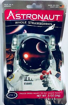 Astronaut Space Food (4 Packs Astronaut Strawberries Space Food)