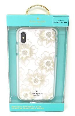 Kate Spade New York Case for Apple iPhone XS Max Reverse Hollyhock Floral New