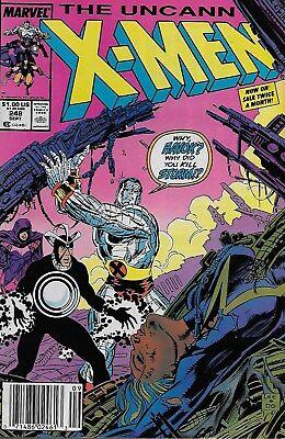 The Uncanny X-Men (Vol.1) No.248 / 1989 1st Jim Lee X-Men