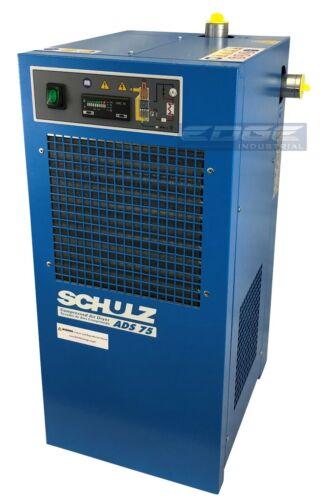 SCHULZ 75 CFM REFRIGERATED COMPRESSED AIR DRYER, 15HP & 20HP COMPRESSORS, 115V