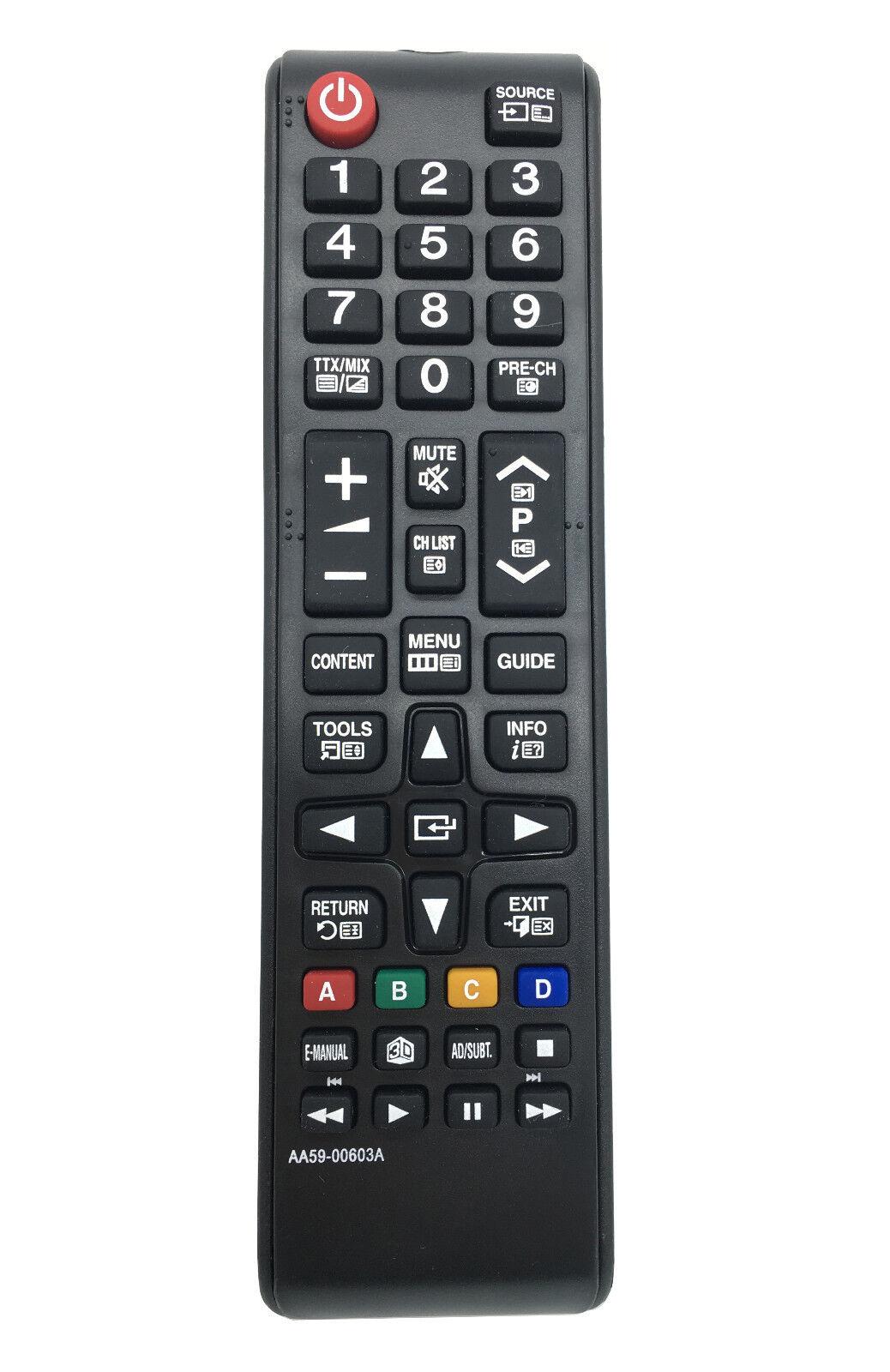 Nuovo sostituito AA59-00603A AA5900603A AA59 00603A remoto per Samsung LED