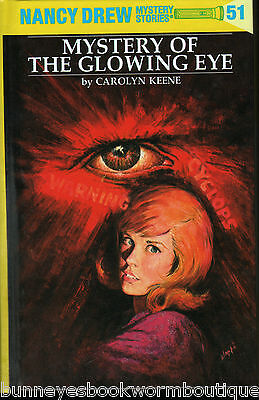 51 Nancy Drew The Mystery Of The Glowing Eye Flashlight Series Hardcover