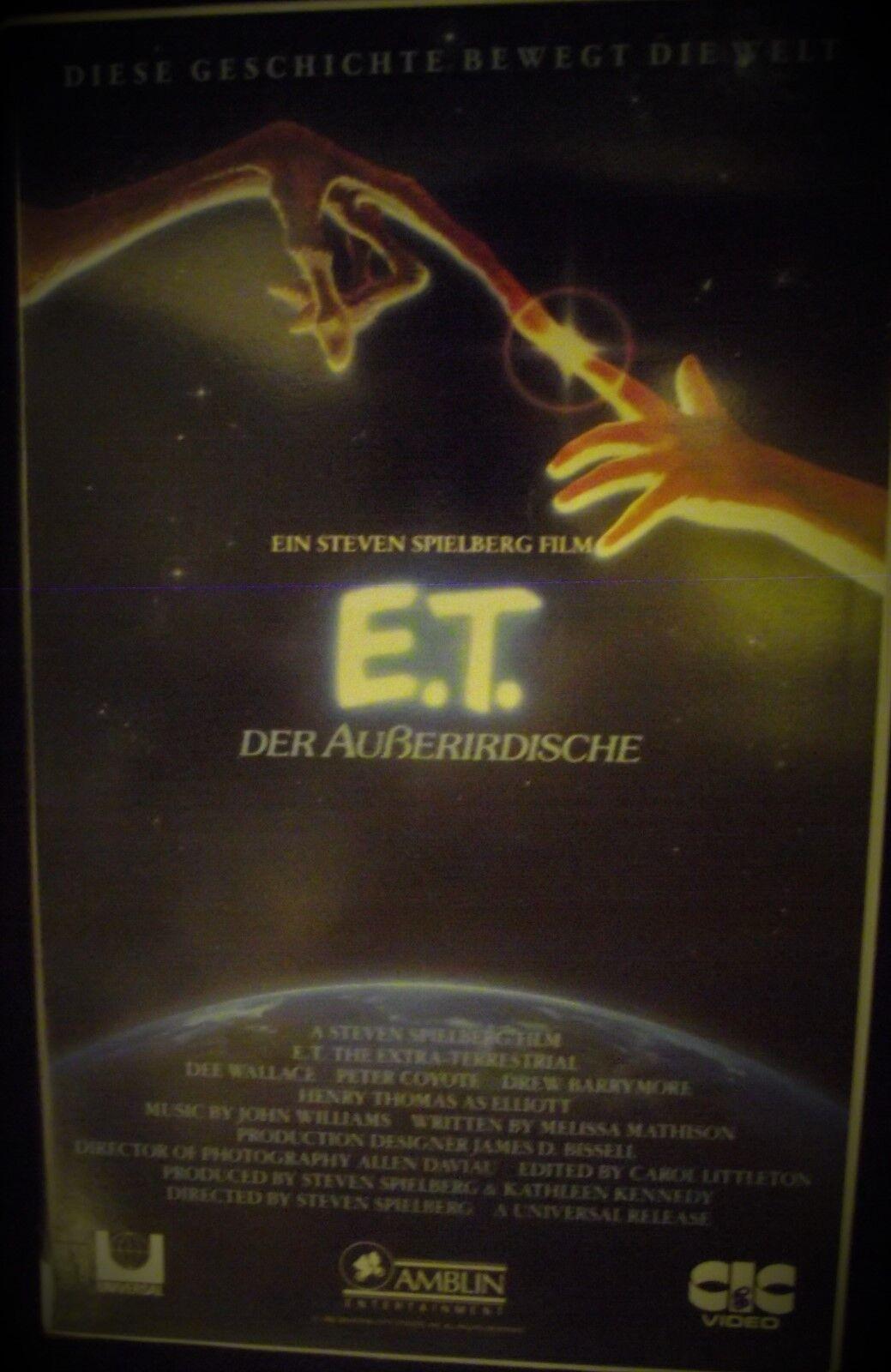 E.T. - Der Außerirdische * Kult Film von Steven  Spielberg * von : 1988 !!! RAR