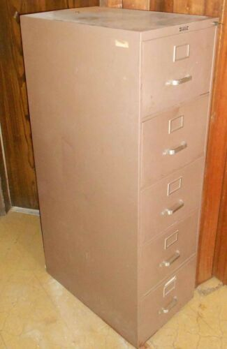 Norwalk Metal File Cabinet (5 drawers, Legal size)  good condition
