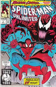 SPIDERMAN UNLIMITED 1...NM-...1993...Maximum Carnage Part 1!...Bargain!