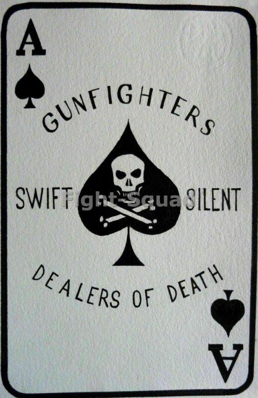 Vietnam War Picture Photo Kill Card Dealers of Death Swift Silent 2340