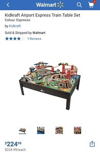 Table Kidcraft airport express train table