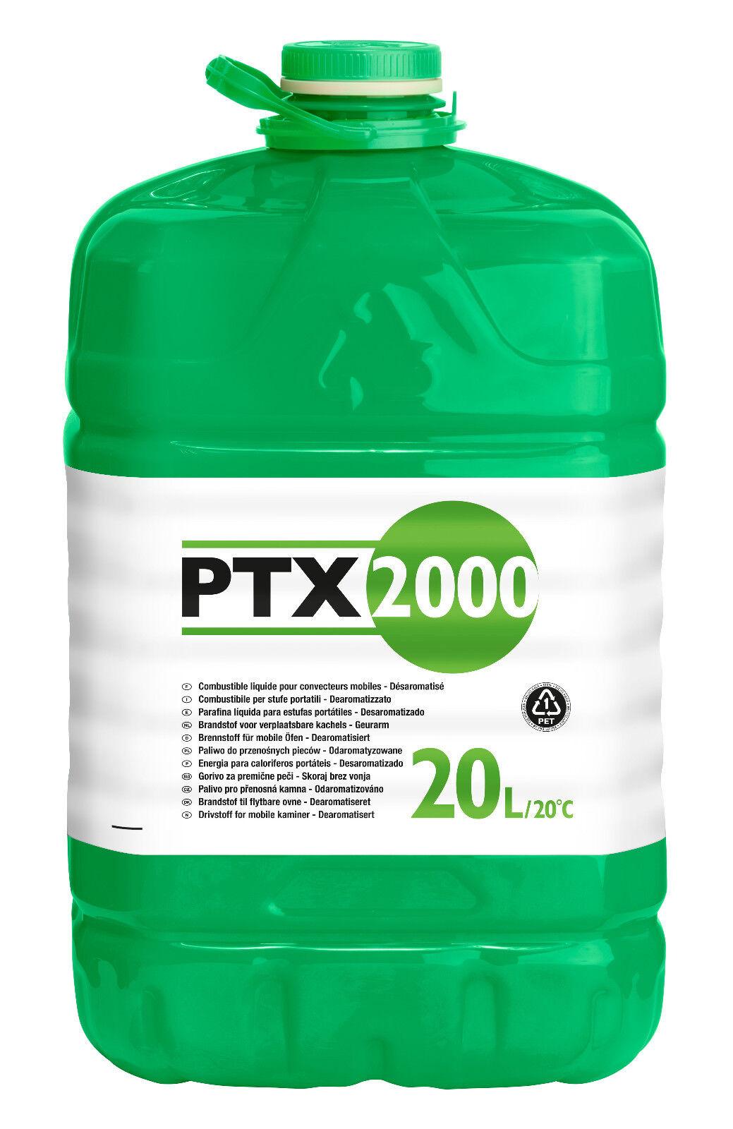 Petroleum 20 Liter Kanister PTX2000 - Qlima Tectro Petroleumofen Heizofen
