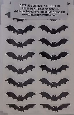 20 - 500 black bat stickers  fun for children Halloween bats scarry](Fun Crafts For Kids Halloween)