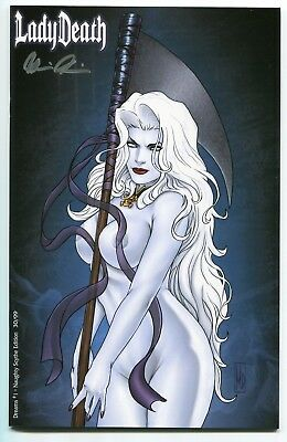 Lady Death And Purgatory Kiss