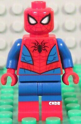 Lego Marvel 76114 Spider Crawler SPIDERMAN (blue outline) minifigure 76113 76115