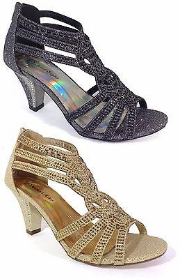 Evening High Heels - Women Evening Dress Shoes Rhinestones High Heels Platform Wedding Black Kimi-25