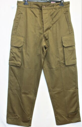New Genuine Indochina French Army M47 HBT Cargo Pants /Trousers W36 L43