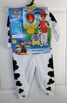 Neu Paw Patrol Marshall Kleinkind Kostüm Größe 2T-3T Hut Pup Packung - Paw Patrol Marshall Kleinkind Kostüm
