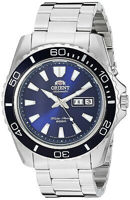 Orient Men's 'Mako XL Japanese Automatic Stainless Steel Diving Watch FEM75002DW