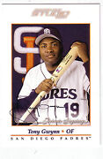 Tony Gwynn Signed Card