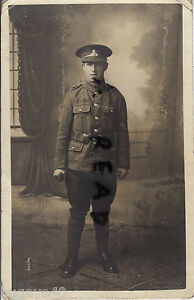 WW1 Soldier Lancashire Fusiliers dated 1914