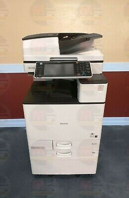Ricoh Aficio Mp C4503 Color Mfp Laser Copier Printer Scanner 11x17 A3 45 Ppm