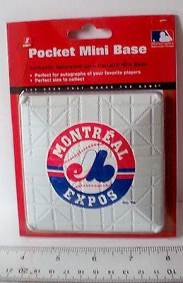 "MLB Montreal Expos Logo 3.75"" Authentic Hollywood Pocket Mini Base"