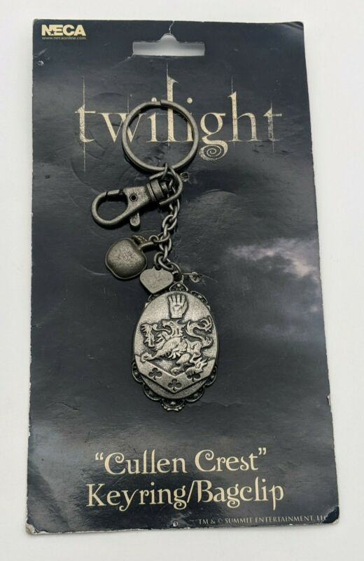 NEW Twilight Cullen Crest Metal Keyring/Bag Clip Neca RARE