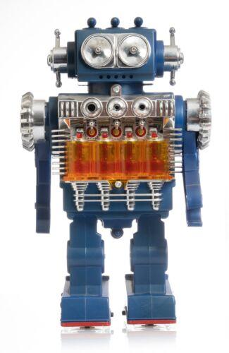 Vintage Japan SH Smoking Engine Robot,